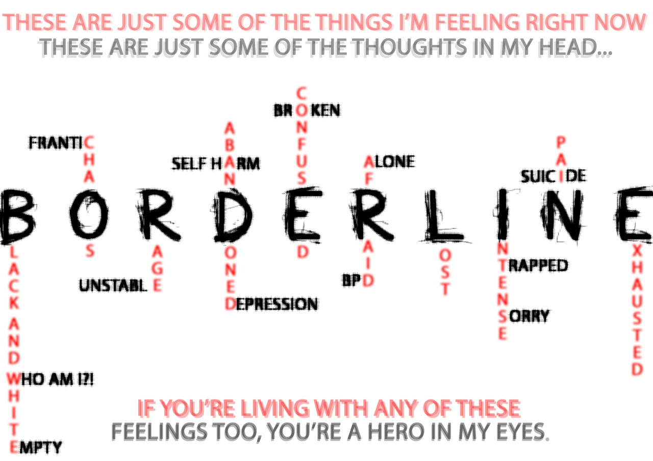 Borderline personality disorder dealing with rejection dating 5