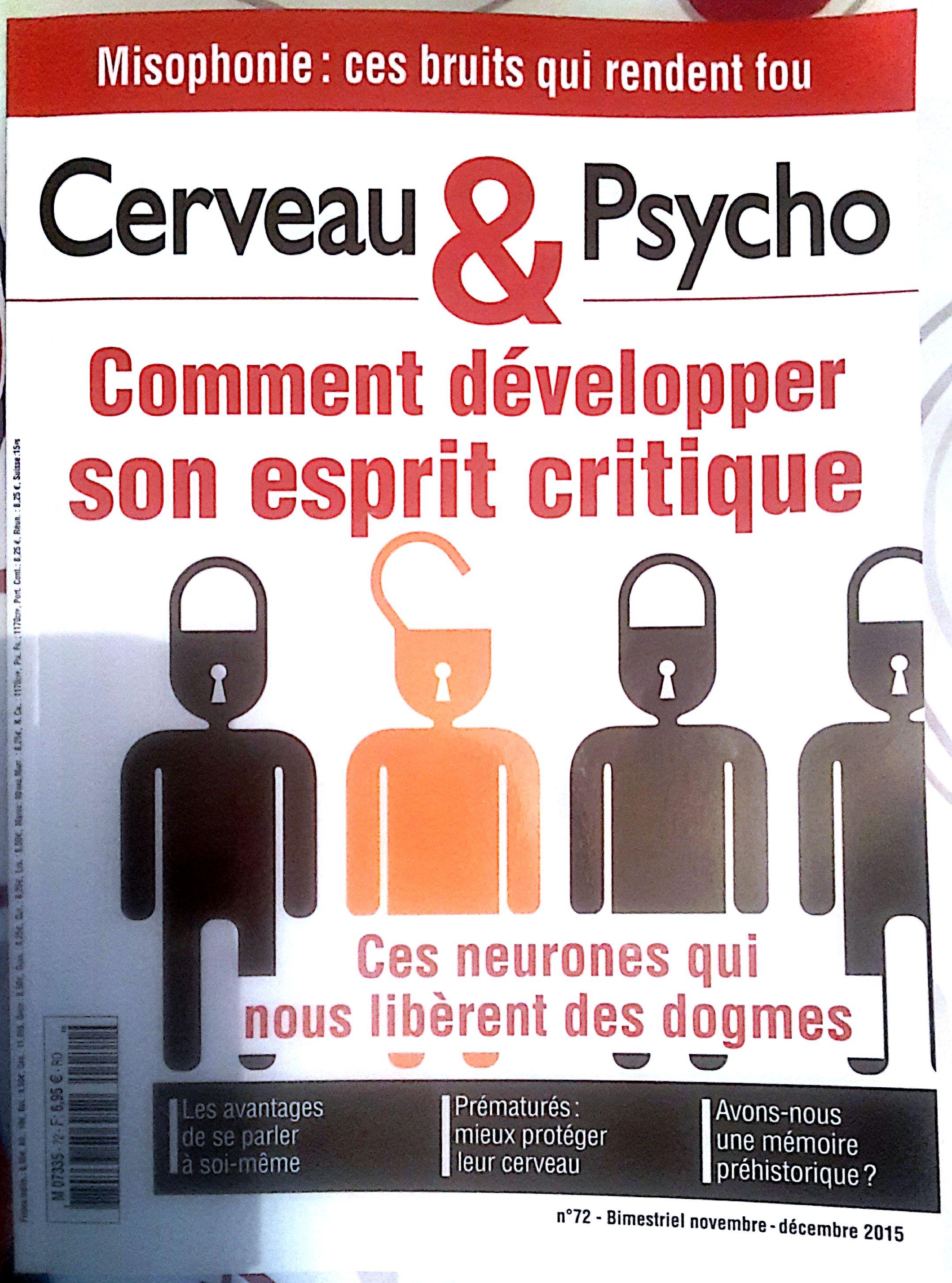 Misophonie Cerveau & Psycho